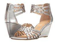 Isola Felicity Silver Women's Wedge Shoes