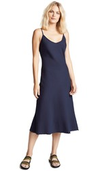 Mother The Slip Up Dress Navy