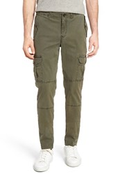 Michael Bastian Men's Garment Dyed Cargo Pants Deep Depths