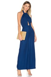 Finders Keepers Leandro Jumpsuit Blue