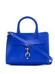 Rebecca Minkoff Mini Clip Tote Bag Blue