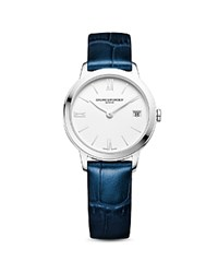 Baume And Mercier Classima 10353 Watch 31Mm White Blue