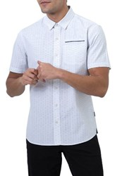 7 Diamonds Men's Free As A Bird Woven Shirt White