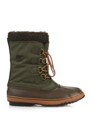 Sorel 1964 Pactm Nylon And Rubber Boots