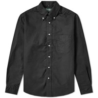 Gitman Brothers Vintage Overdyed Oxford Shirt Black