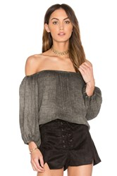 Sam And Lavi Nola Top Gray