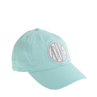 J.Crew Adore Patch Baseball Cap Sweet Mint