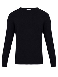 Raey Crew Neck Cashmere Sweater Navy
