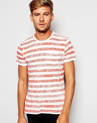 Pepe Jeans Bandana Stripe T Shirt Red