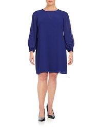 Vince Camuto Plus Long Sleeve Shift Dress