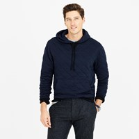 J.Crew Quilted Pullover Hoodie