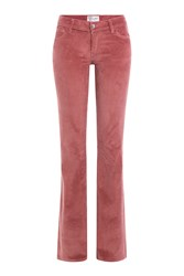 Seafarer Flared Corduroy Pants Rose