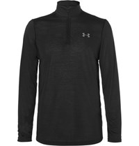Under Armour Threadborne Heatgear Half Zip Top Black