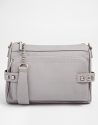 Bcbgeneration Statement Cross Body Bag With Chain Strap Grey