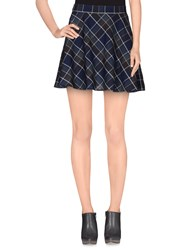 Sessun Skirts Mini Skirts Women Dark Blue