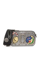 Marc Jacobs Night And Day Snapshot Camera Bag Pewter