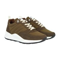 Ami Alexandre Mattiussi Spring 9 Sneakers Olive Fonce