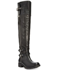 Zigi Soho Doran Over The Knee Flat Lug Boots