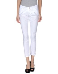 Atelier Fixdesign Casual Pants White