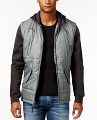 Rvca Men's Puffer Quilted Expedition Jacket Pirate