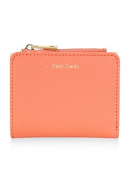 Accessorize Party Funds Wallet Coral