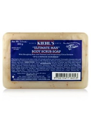Kiehl's Since Ultimate Man Body Scrub Soap 7 Oz. No Color
