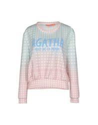 Agatha Ruiz De La Prada Topwear T Shirts Women Light Green