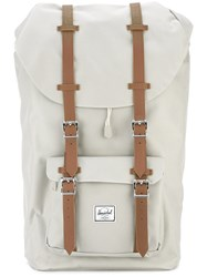 Herschel Supply Co. Double Strap Backpack Nude Neutrals