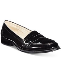 Wanted Campus Penny Loafers Women's Shoes Black Patent