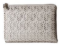 Ivanka Trump Rio Tech Clutch With Battery Charging Pack Stone Clutch Handbags White