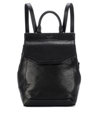 Rag And Bone Pilot Leather Backpack Black