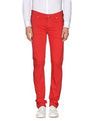 Roy Rogers Roy Roger's Trousers Casual Trousers Men Red