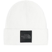 The North Face Box Logo Cuff Beanie 'Lunar Voyage' White