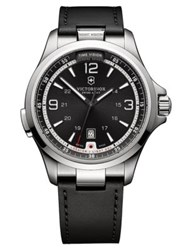 Victorinox Nightvision Stainless Steel Watch Black