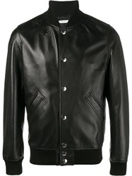 Givenchy Star Logo Bomber Jacket Black