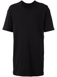 11 By Boris Bidjan Saberi Loose Fit T Shirt Black