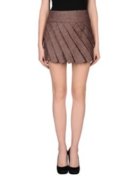 Nolita Mini Skirts Cocoa