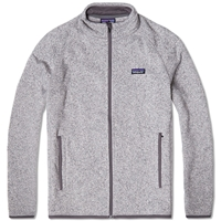Patagonia Better Sweater Jacket Stonewash And Narwhal Grey