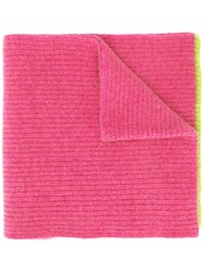 Marni Long Knitted Scarf Pink