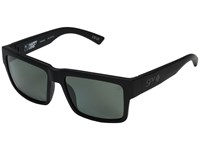 Spy Optic Montana Soft Matte Black Happy Gray Green Polar Plastic Frame Sport Sunglasses