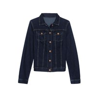 Lands' End Regular Indigo Denim Jacket Blue