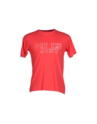 Rogan T Shirts Red