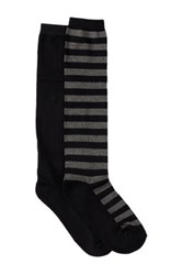 Shimera Pillow Sole Knee High Sock Pack Of 2 Black