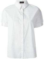 Piazza Sempione Short Sleeved Shirt White