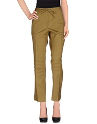 Dries Van Noten Trousers Casual Trousers Women Military Green
