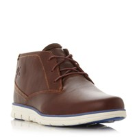 Timberland A11br White Wedge Sole Chukka Boots Tan