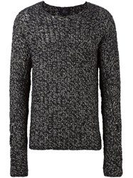 Lost And Found Ria Dunn Cable Knit Jumper Black