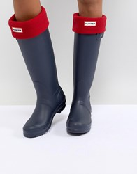 Hunter Original Red Tall Boot Socks Miltary Red