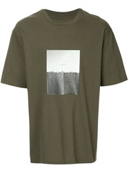 Song For The Mute Short Sleeved T Shirt Green
