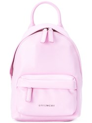 Givenchy Front Pocket Backpack Pink Purple